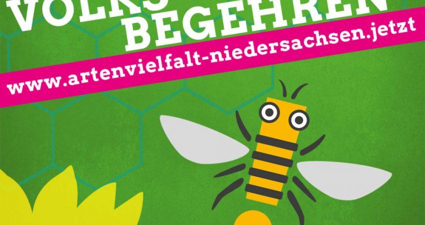 Volksbegehren Artenvielfalt in Niedersachsen