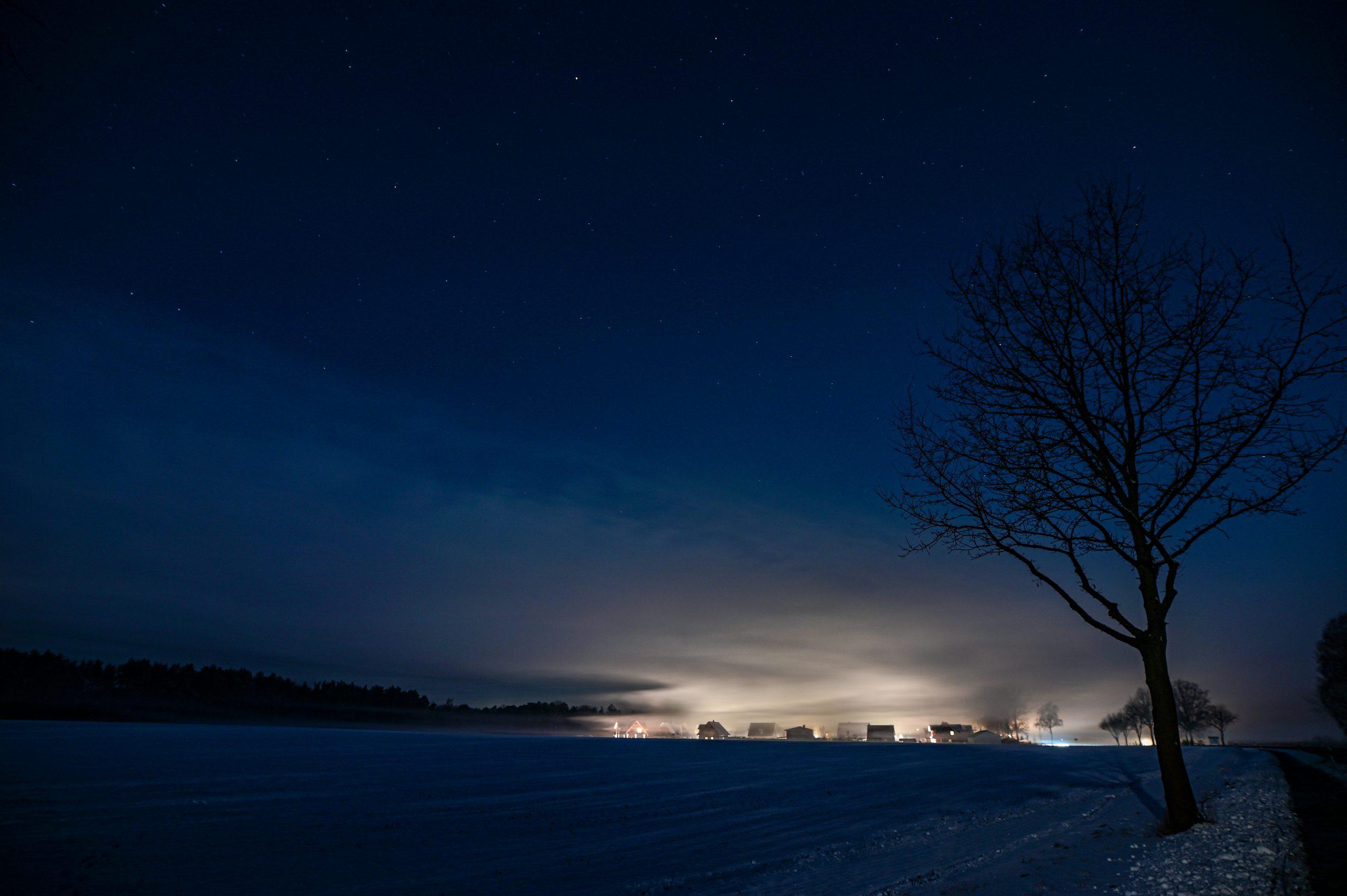 Onlinevortrag über Lichtverschmutzung: Seid dabei!