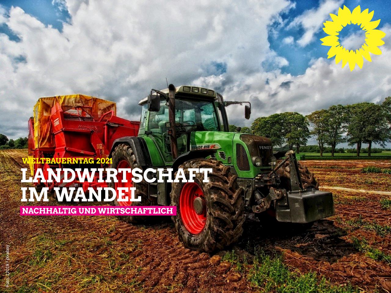 Weltbauerntag 2021 – Landwirtschaft im Wandel