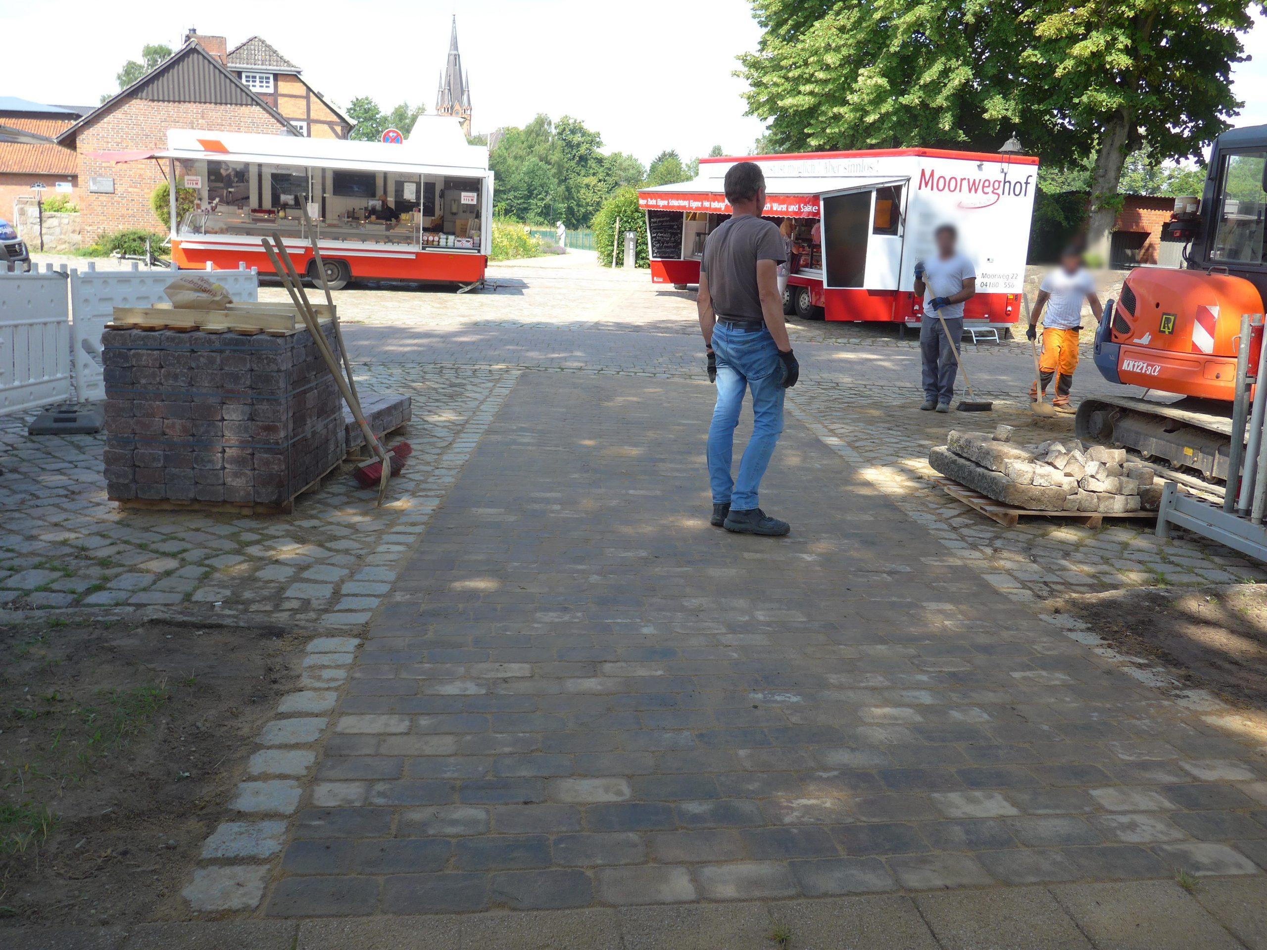 Kirche und Dieckhofstraße vom Marktplatz besser erreichbar
